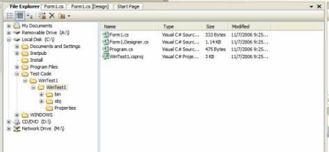 [File Explorer Tool]