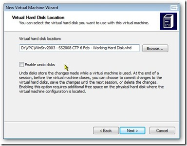 [Picture 15 - Pick name of existing disk]