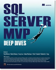 SQL Server MVP Deep Divers Cover