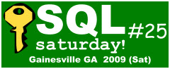 SQL Saturday 25 Logo