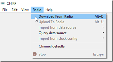 Programming Your Baofeng Radio with Chirp and Solving the Prolific