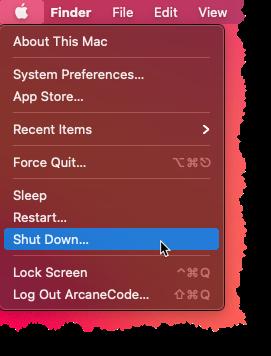 Skip The Countdown When Shutting Down Apple macOS