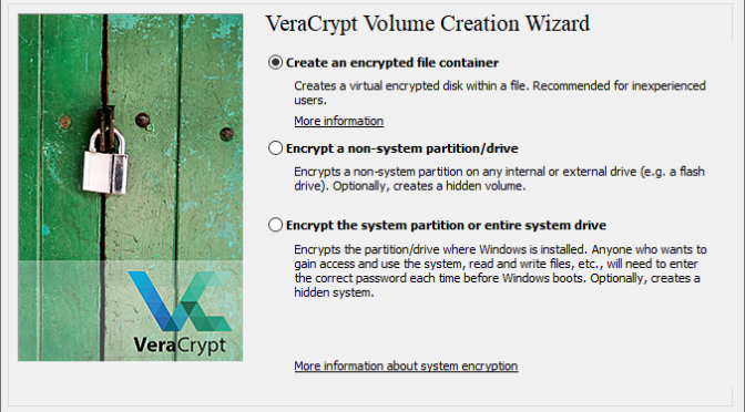 Creating and Using Hidden Containers in VeraCrypt