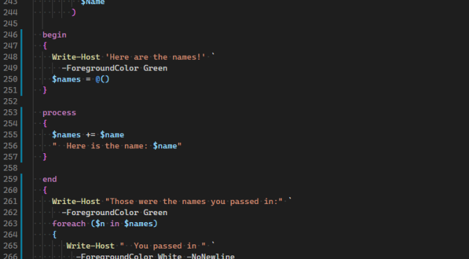 Fun With PowerShell Pipelined Functions
