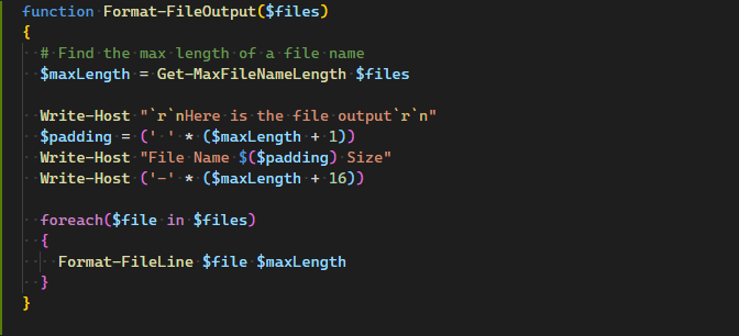 Fun With PowerShell Basic Functions