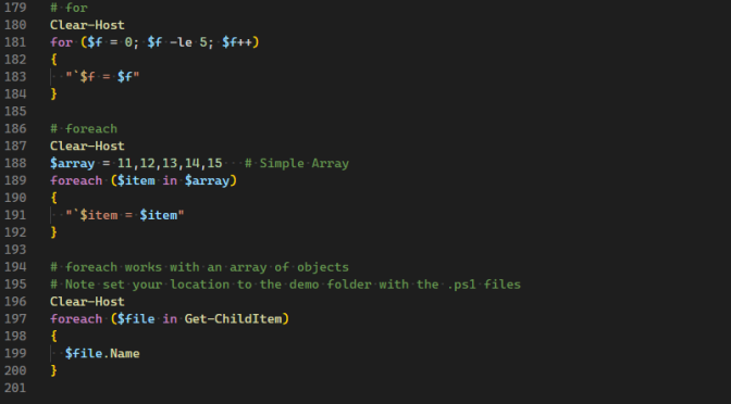 Fun with PowerShell Loops